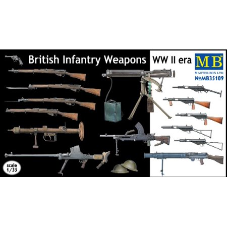 Wwii German Infantry Weapons - 1/35 WWII British Infantry Weapons