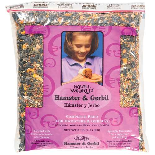 Small World: Complete Feed Hamster & Gerbil, 5 lb
