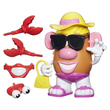 Playskool Friends Mrs. Potato Head Beach Spudette (Mr Potato Head Large)