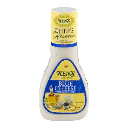 Kens Steak House Chefs Reserve Blue Cheese With Gorgonzola Dressing  9 0 Fl Oz