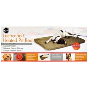 "K Pet Products K Lectro Soft Heated Pet Bed Medium - (19""L x 24""W x 1.5""H)"