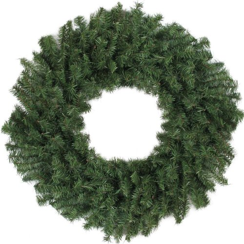 The Holiday Aisle Canadian 30'' Pine Artificial Christmas Wreath with Unlit