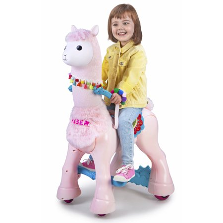 My Lovely Llama Battery Powered Ride On Toy Now $49 (Was $199)