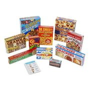 Melissa & Doug Grocery Boxes for Pretend Kitchens and Shopping (11 pcs)