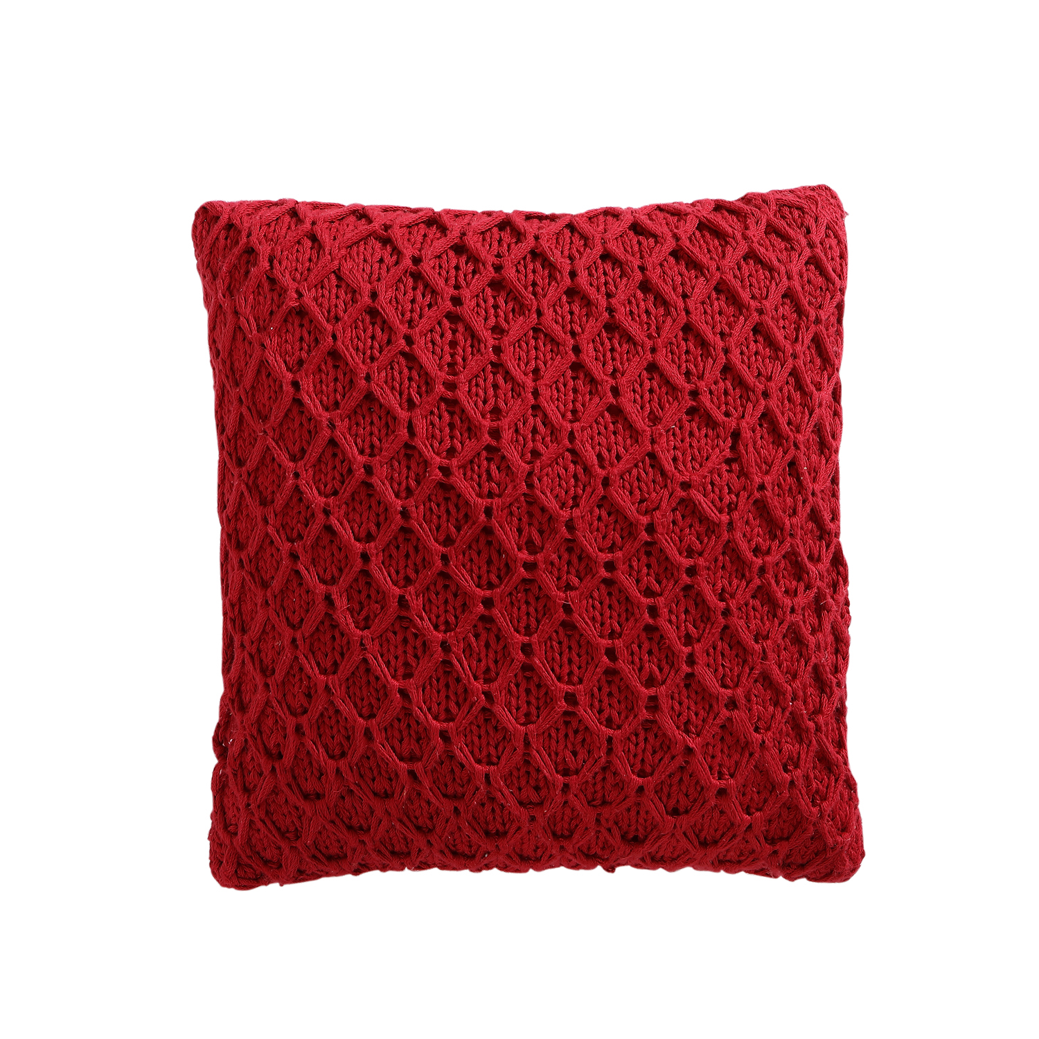 "VC New York Diamond Quilted 18"" x 18"" Square Decorative Throw Pillow, Multiple Colors Available"