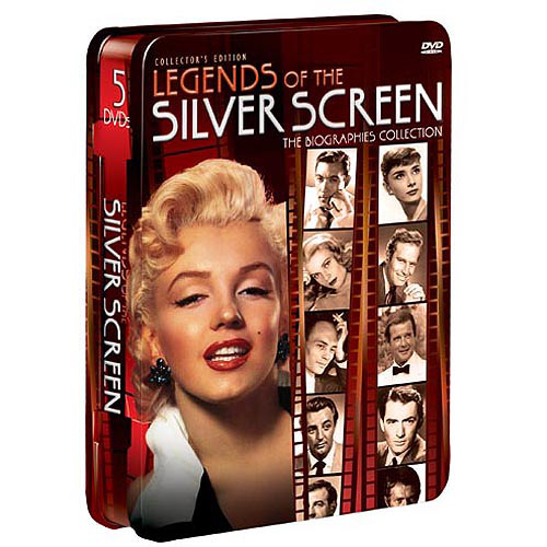 Legends Of The Silver Screen (5-Pack) (Tin) (Full Frame)