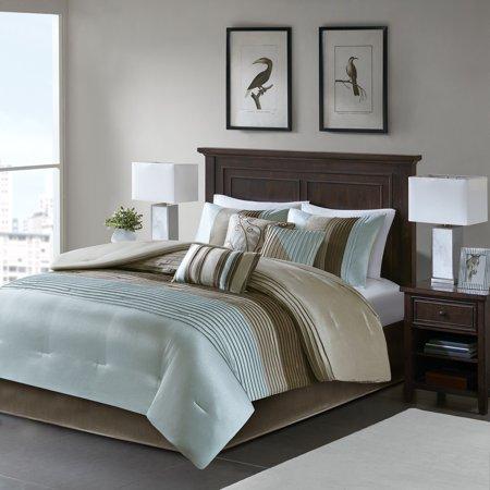 Home Essence Salem 7 Piece Pieced Bedding Comforter Set ()