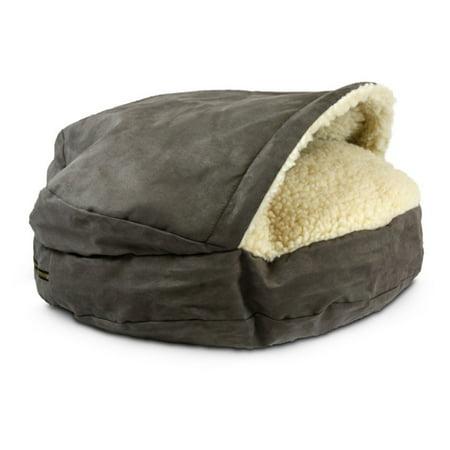 Snoozer Luxury Pet Sofa - Snoozer Orthopedic Luxury Microsuede Cozy Cave Pet Bed