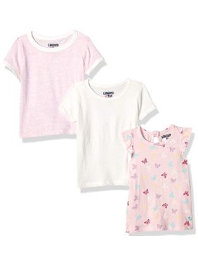 Limited Too Printed and Graphic T-shirts, 3-pack (Toddler Girls)