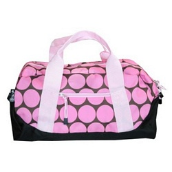 Big Dot Pink Duffel Bag