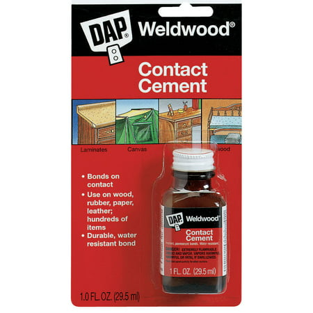 Contact Cement - Dap 102 General Purpose Contact Cement, 1 Oz