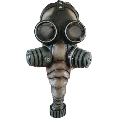 Gas Mask Latex Adult Halloween Accessory