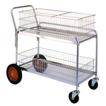 Wesco Deluxe Wire Office Cart