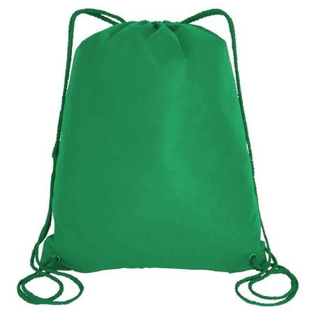 f7c9aef40f0 TBF - Large Drawstring Backpack Gym Sack Bag Foldable Cinch Bag Sport