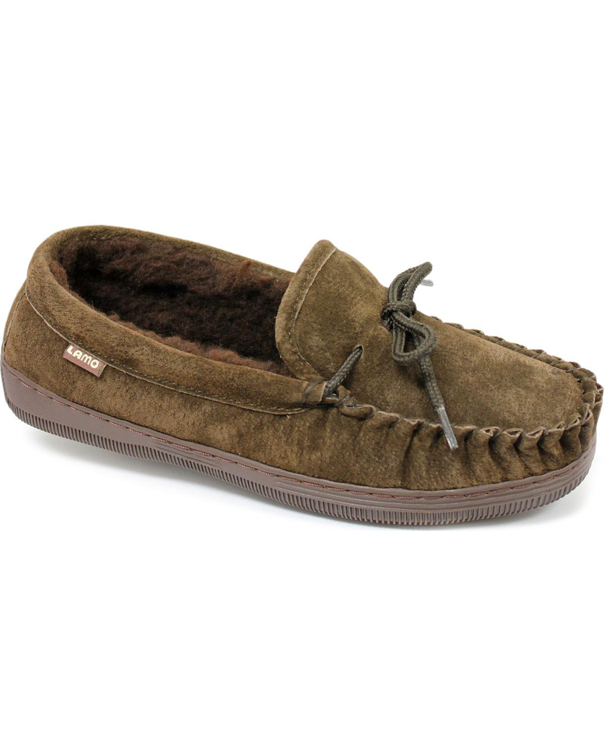Lamo Footwear Women's Leather Moccasin Slippers P002w-92 by Lamo Footwear