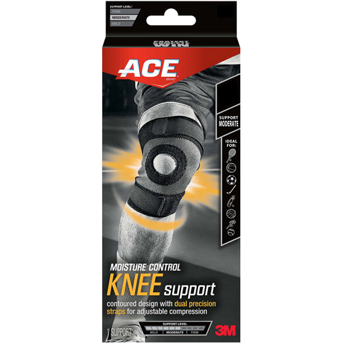 ACE Brand Moisture Control Knee Support, Small, 907010