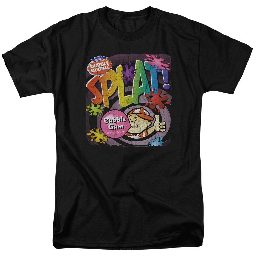 DUBBLE BUBBLE/SPLAT GUM - S/S ADULT 18/1 - BLACK - SM