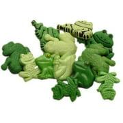 Jesse James Button Fun Multi Frogs