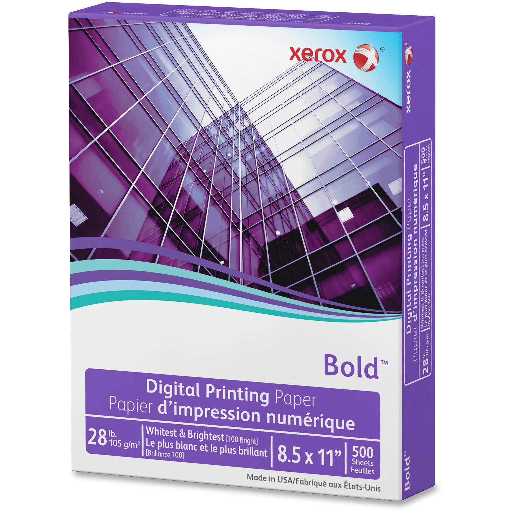 Xerox, XER3R11760, Bold Digital Printing Paper, 500 / Ream, White