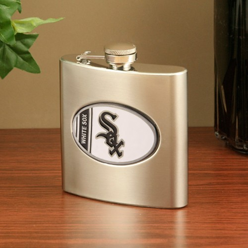 Chicago White Sox Stainless Steel Flask - No Size