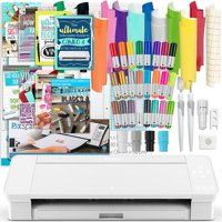 Silhouette White Cameo 4 Bundle w/ Oracal 651 Vinyl, Tools, Guides, and Pixscan