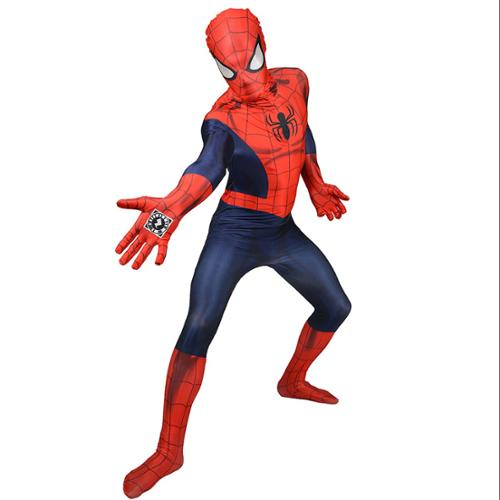 Spiderman Zappar Adult Costume Morphsuit Large