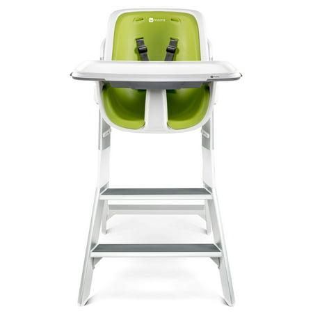 Enjoyable 4Moms High Chair White Green Ncnpc Chair Design For Home Ncnpcorg