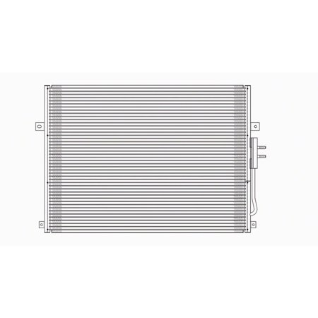 Air Conditioning Condenser for 99-03 Jeep Grand Cherokee CH3030152