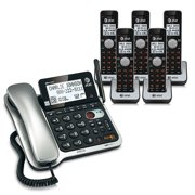 AT&T CL84502 DECT 6.0 Corded / Cordless Phone w/ Digital Answering System