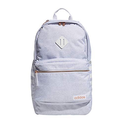 adidas Unisex Classic 3S III backpack, White/Black/Rose Gold V3, One Size