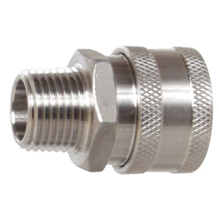 Stainless Steel Female Quick Disconnect MPT