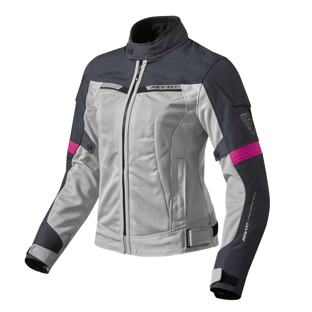 Rev'It Airwave 2 Womens Textile Jacket Silver/Red
