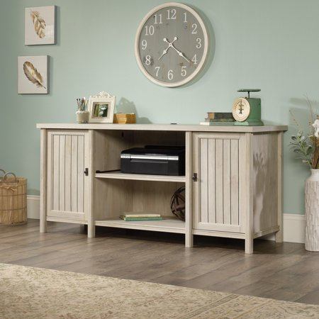 Sauder Costa Credenza, Chalked Chestnut Finish