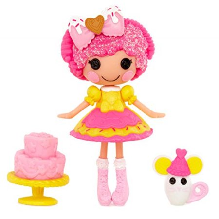 Mini Lalaloopsy Super Silly Party Doll- Crumbs Sugar - Sugar Crumbs Lalaloopsy