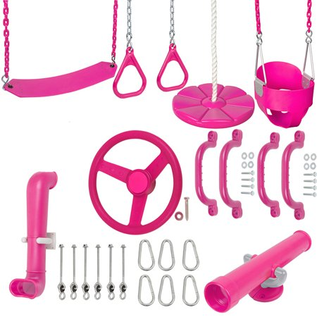Swing Set Stuff Inc. Ultimate Toddler Kit (Pink)