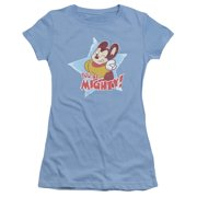 Mighty Mouse You'Re Mighty Juniors Short Sleeve Shirt