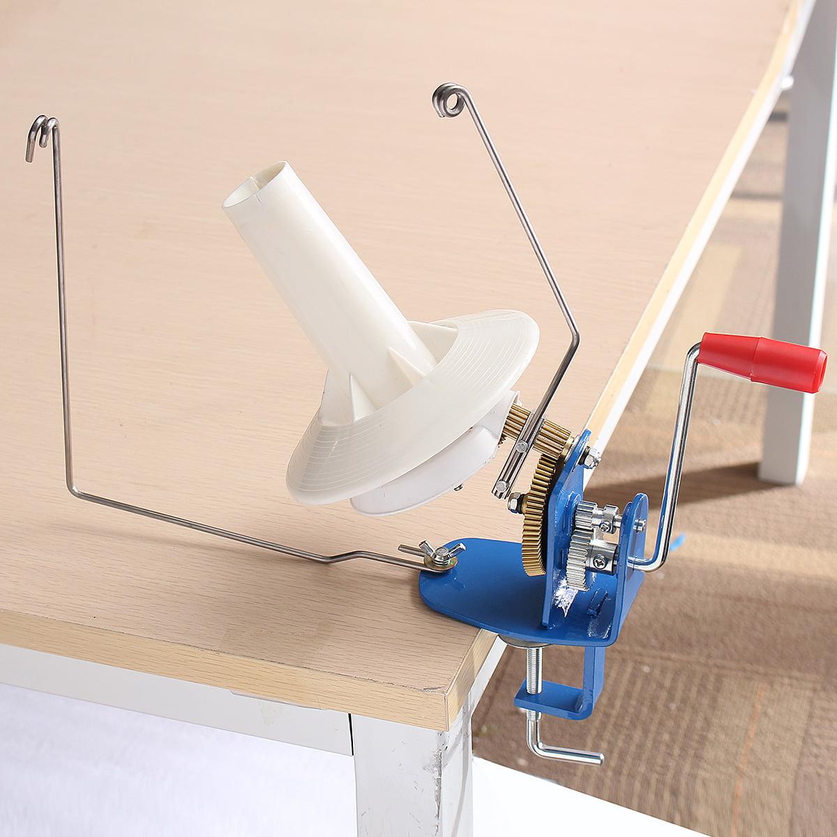 Heavy Duty Yarn Fiber Wool Ball Winder Hand Operated Needlecraft Winding Machine