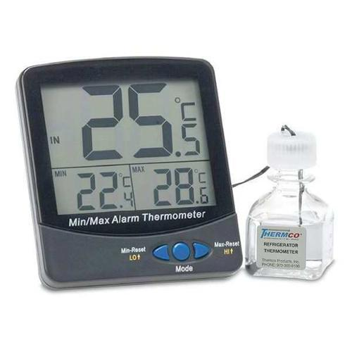 GRAINGER APPROVED LCD Digital Food Service Thermometer with -58 to 392 (F), ACC895REF