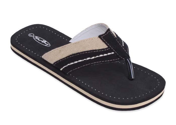 Blue Fish Size 1-2  Junior Beach Shoes Children/'s Flip Flops
