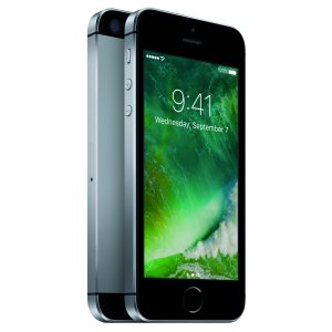 Refurbished Straight Talk Apple iPhone SE 32GB Prepaid Smartphone, Gray