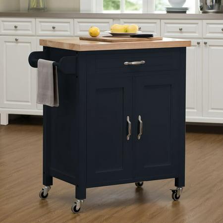 Sunjoy Alberta Portable Kitchen Island Cart - Walmart.com