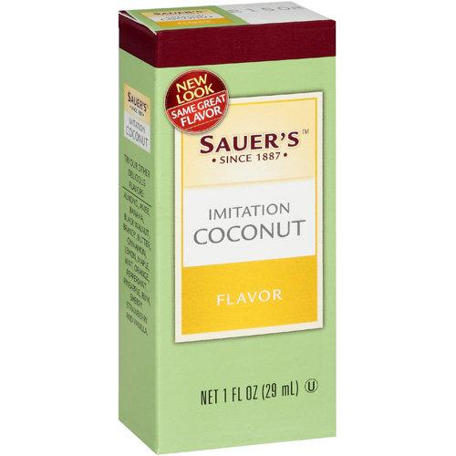 Sauer's: Imitation Coconut Extract, 1 Oz