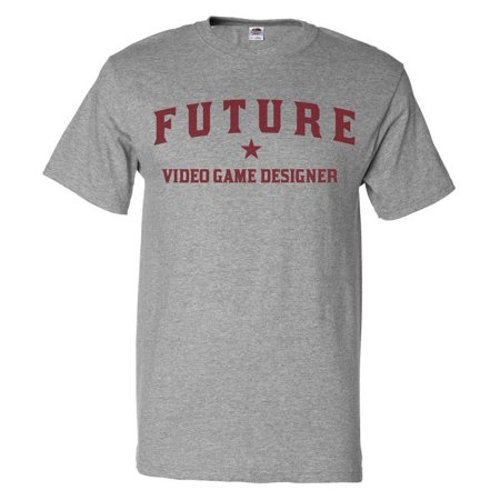 Future Video Game Designer T shirt Funny Video Game Designer Tee (Top Mens Designer)