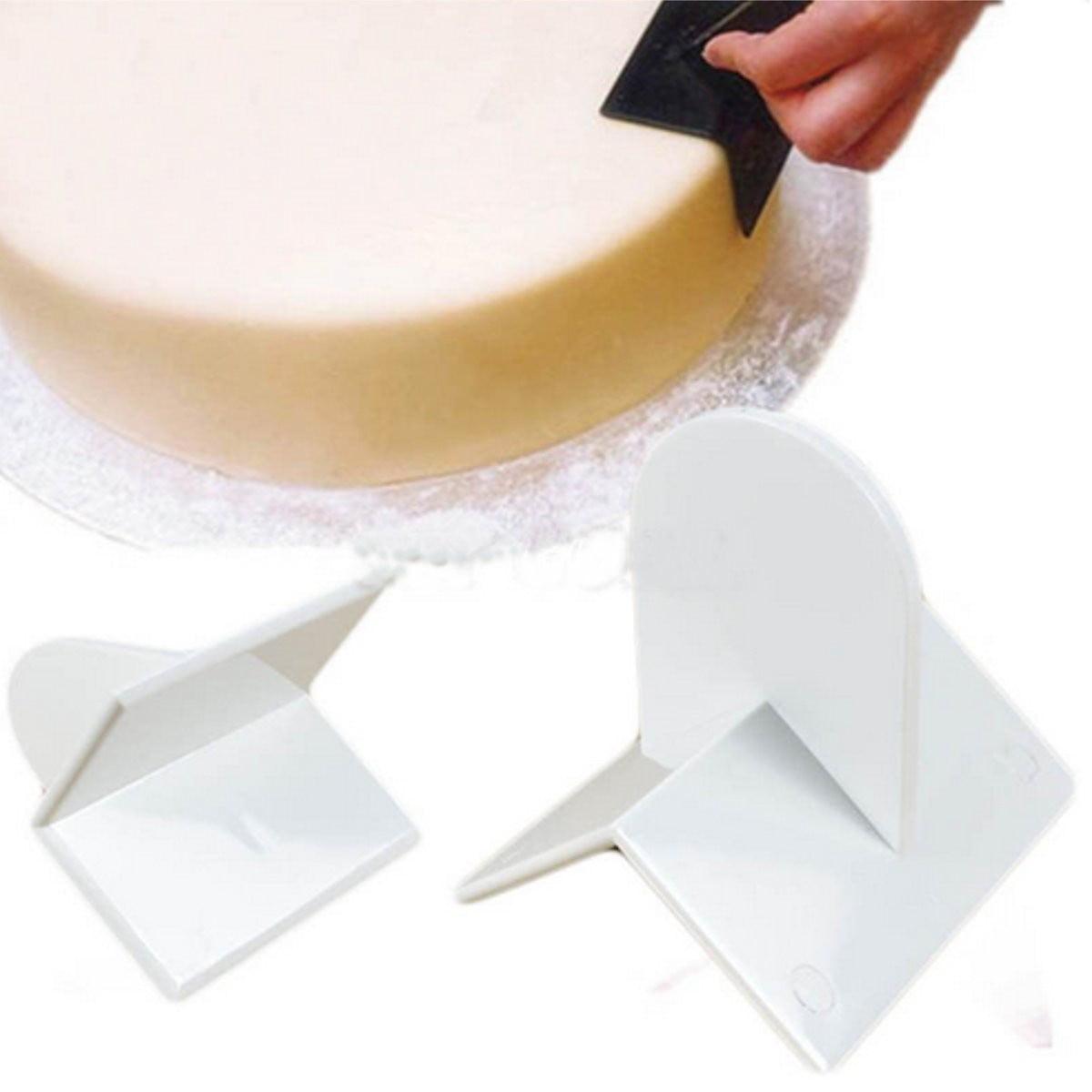Cake Smoother Paddle Tool Sugarcraft Icing Fondant Polisher Finisher Decorating