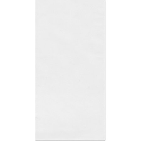 Plymor Flat Open Clear Plastic Poly Bags, 1.25 Mil, 12