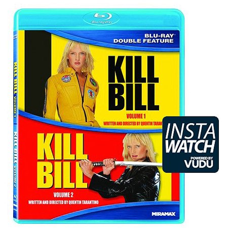 Kill Bill  Volume 1   Kill Bill  Volume 2  Blu Ray   With Instawatch   Widescreen