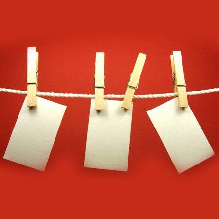 200pcs Natural Mini Wooden Clips For Clothespins Decorative