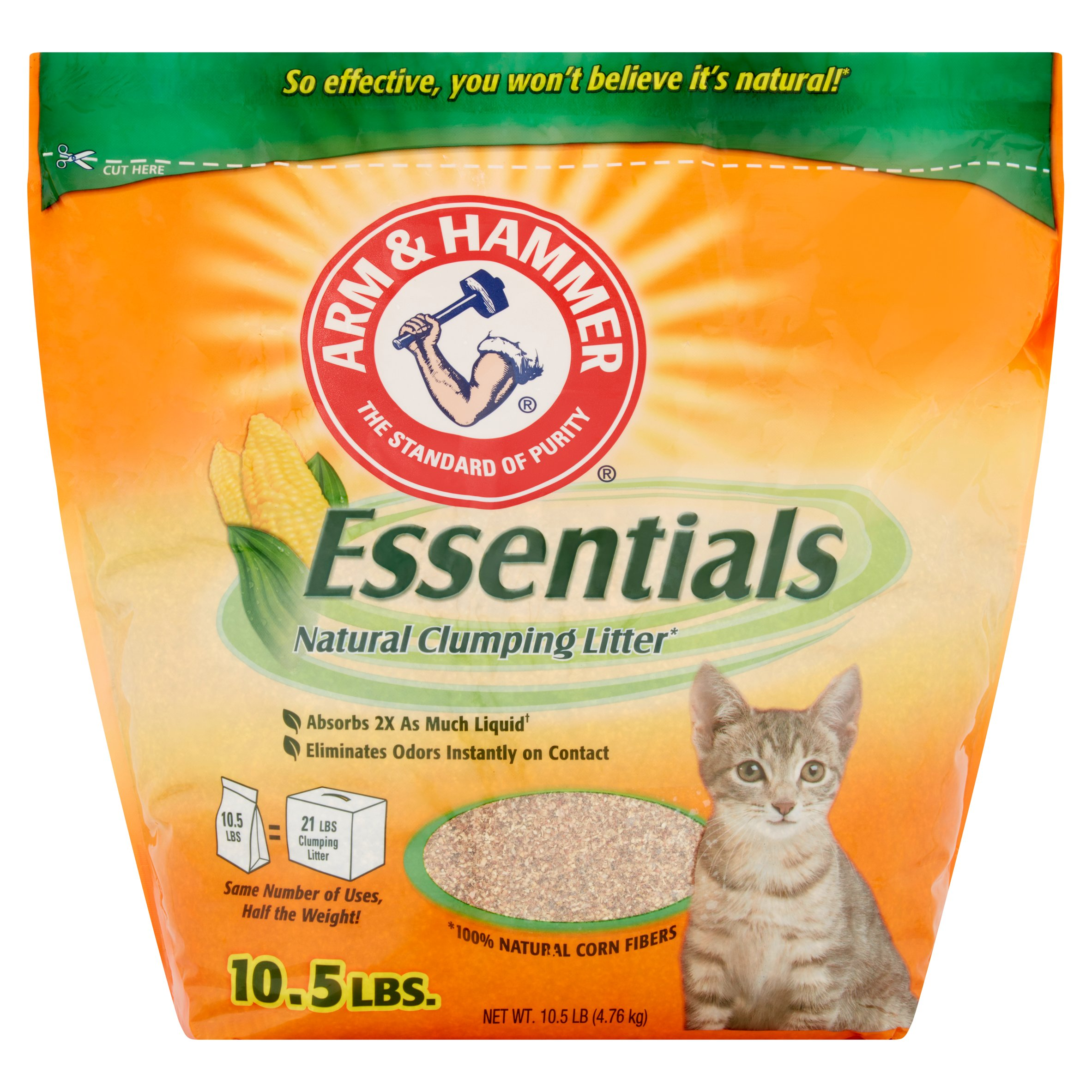 Arm & Hammer Essentials Cat Food, 10.5 Lbs