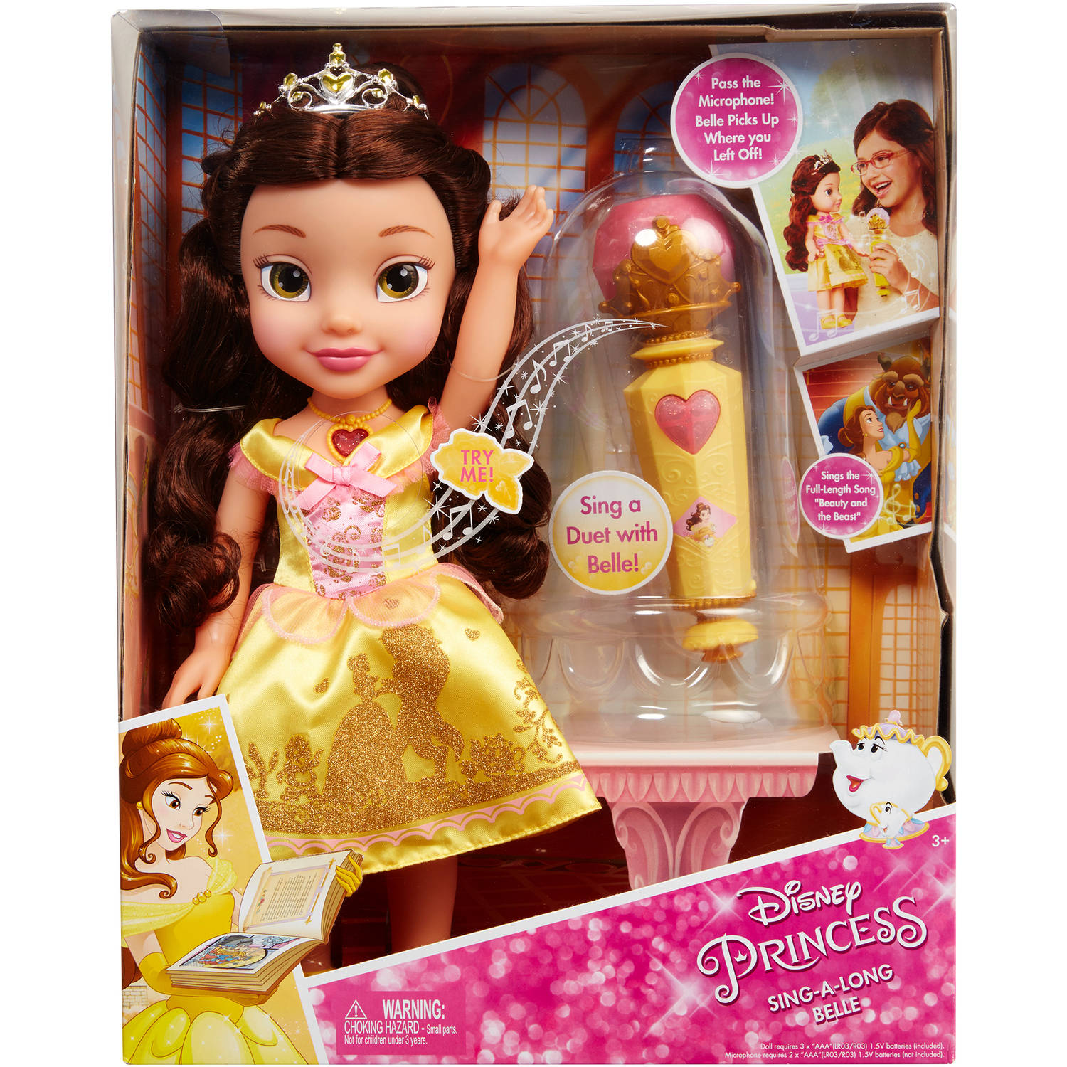 Disney Princess Sing Along Belle by Jakks Pacific