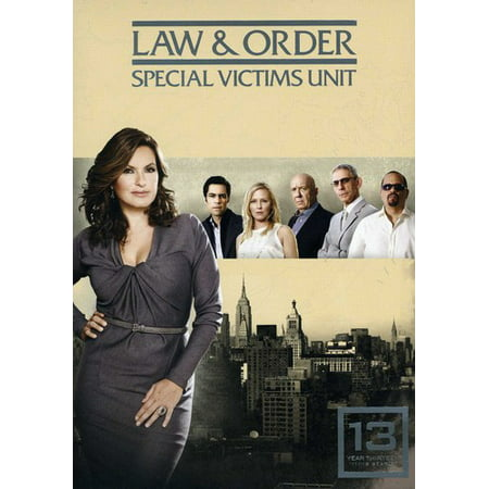 Law & Order Special Victims Unit: Year 13 (DVD)